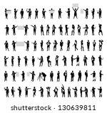 business people set | Shutterstock .eps vector #130639811