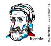 Empedocles Engraved Vector...