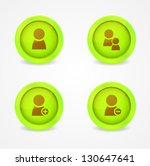 set of glossy internet icons.... | Shutterstock .eps vector #130647641