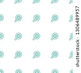 zoom in icon pattern seamless... | Shutterstock .eps vector #1306489957