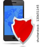 protection against threats.... | Shutterstock .eps vector #130651145