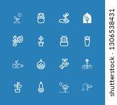 editable 16 stem icons for web...   Shutterstock .eps vector #1306538431