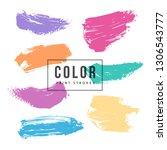 grunge hand drawn backgrounds... | Shutterstock .eps vector #1306543777