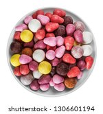 chewing gum  candies of... | Shutterstock . vector #1306601194