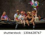 amsterdam  holland   august 4... | Shutterstock . vector #1306628767