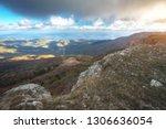 landscape from mountain peak...   Shutterstock . vector #1306636054