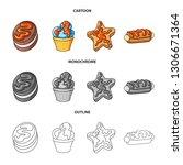 vector illustration of... | Shutterstock .eps vector #1306671364