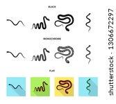 vector design of mammal and...   Shutterstock .eps vector #1306672297