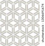 vector seamless pattern. modern ... | Shutterstock .eps vector #1306691674