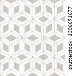 vector seamless pattern. modern ... | Shutterstock .eps vector #1306691677