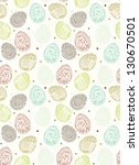 doodle decorative eggs for... | Shutterstock .eps vector #130670501