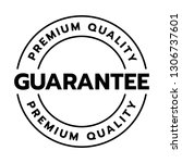 premium quality guarantee word... | Shutterstock .eps vector #1306737601