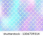 gradient mermaid background... | Shutterstock .eps vector #1306739314