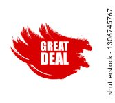 great deal red banner.designed...