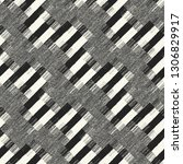monochrome diagonal broken... | Shutterstock .eps vector #1306829917