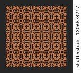 laser cutting interior panel.... | Shutterstock .eps vector #1306878217
