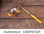 close up shot of a antique... | Shutterstock . vector #1306937224