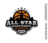 all star basketball  sports... | Shutterstock . vector #1306960951