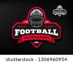 american football tournament... | Shutterstock . vector #1306960954