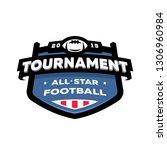 american football championship... | Shutterstock . vector #1306960984