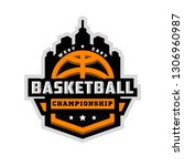 basketball championship  sports ... | Shutterstock . vector #1306960987