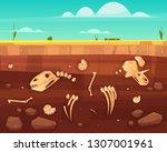 Dinosaurs Skulls  Reptile...
