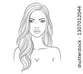 vector illustration of a... | Shutterstock .eps vector #1307012044