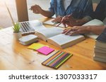 education concept. students... | Shutterstock . vector #1307033317