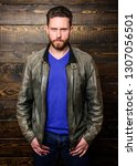 barber shop concept. hipster...   Shutterstock . vector #1307056501