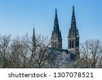 prague  czech republic   europe ... | Shutterstock . vector #1307078521