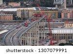 genova  genoa  italy   february ... | Shutterstock . vector #1307079991