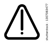 warning icon. simple web ui...