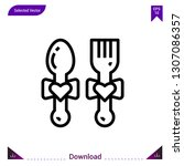cutlery vector icon. best...