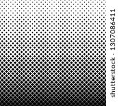black and white square pattern... | Shutterstock .eps vector #1307086411