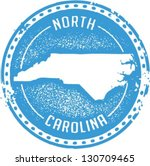 vintage style north carolina... | Shutterstock .eps vector #130709465