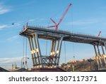 genova  genoa  italy   february ... | Shutterstock . vector #1307117371