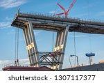 genova  genoa  italy   february ... | Shutterstock . vector #1307117377