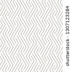 vector seamless pattern. modern ... | Shutterstock .eps vector #1307123284