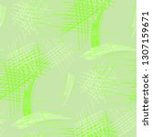 various hatches. seamless... | Shutterstock .eps vector #1307159671