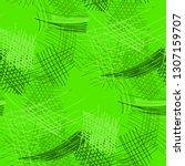 various hatches. seamless... | Shutterstock .eps vector #1307159707
