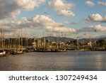 Wharf Under The Sunset In...