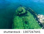 19th Century Shipwreck On Lake...