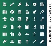 close icon set. collection of...   Shutterstock .eps vector #1307338864