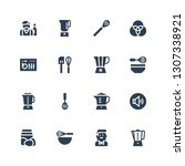 mixing icon set. collection of...   Shutterstock .eps vector #1307338921