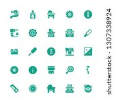 manual icon set. collection of... | Shutterstock .eps vector #1307338924