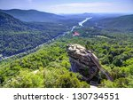 chimney rock at chimney rock... | Shutterstock . vector #130734551