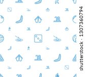 leisure icons pattern seamless... | Shutterstock .eps vector #1307360794