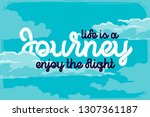 "lettering quote ""life is a... 