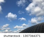 blue sky in biogas plant | Shutterstock . vector #1307366371