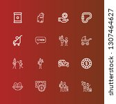 editable 16 mother icons for...   Shutterstock .eps vector #1307464627